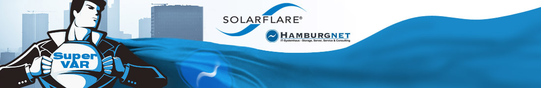 "Hamburgnet becomes Solarflare ""Super VAR"""